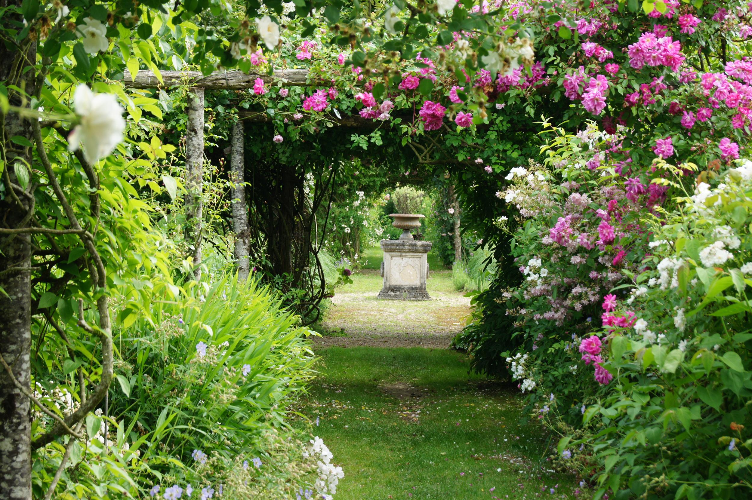 Val de loire de s duisantes escapades aux jardins for Plan amenagement jardin anglais