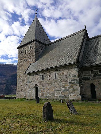 L'église en pierre de Vik