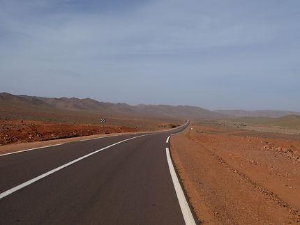 Route entre Agdz et Taroudant, Maroc