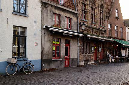 Bruges par une journée d'hiver