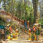 Temple de Sambok au nord de Kratie