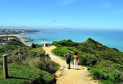 Bidart randonnée sur le sentier du littoral