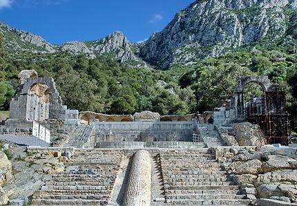 Temple des eaux à Zaghouan