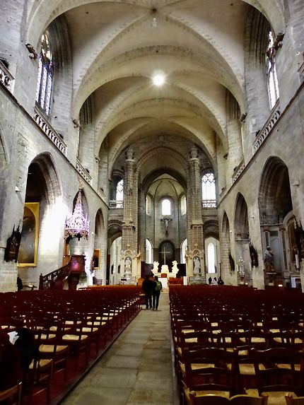 Intérieur de la Cathédrale de St Pierre de Vannes