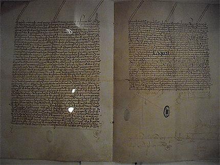 Parchemin de Christophe Colomb