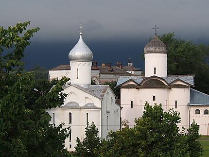 Orage à Novgorod