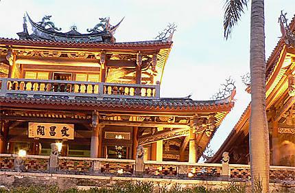 Crépuscule à Tainan