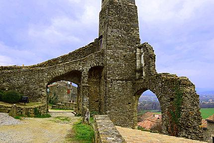 Découverte des ruines
