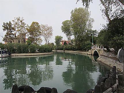 Le canal du Lido