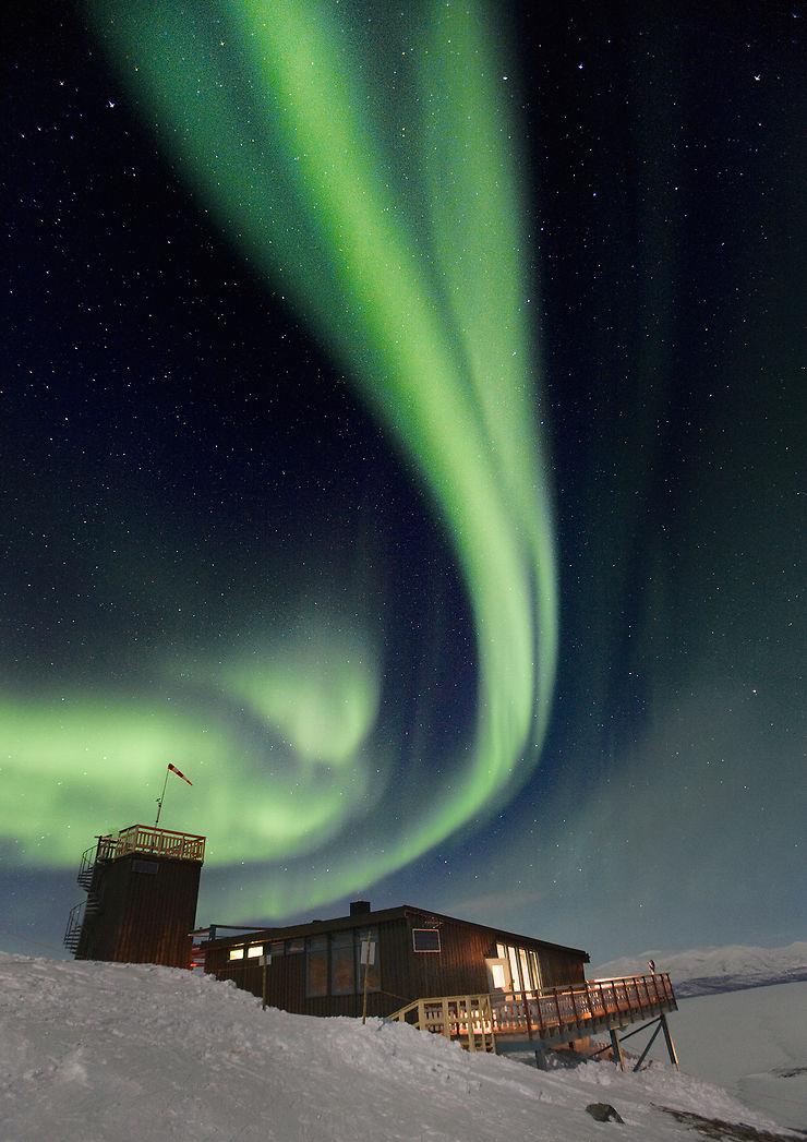 Admirer les aurores boréales depuis l'Aurora Sky Station d'Abisko - Suède