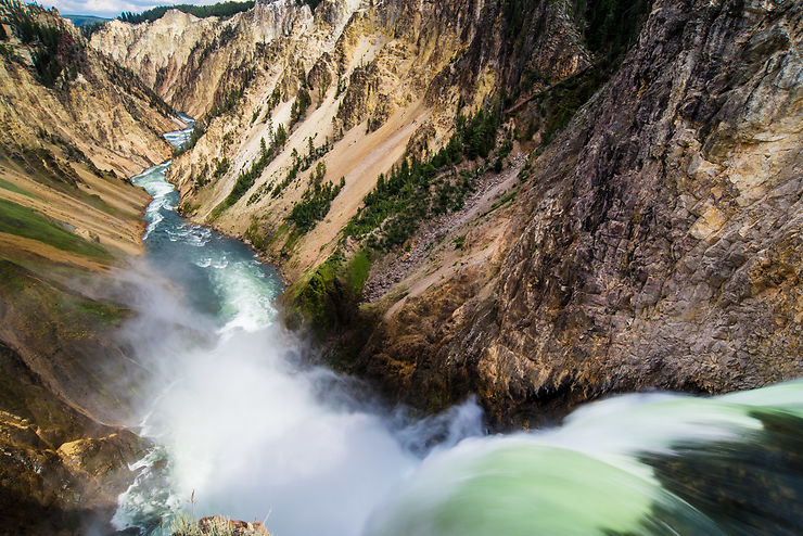 Grand Canyon of Yellowstone, Wyoming