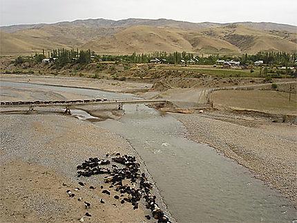 Paysage de Jalal-Abad