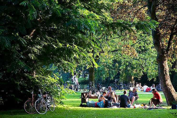 Glander au Vondelpark