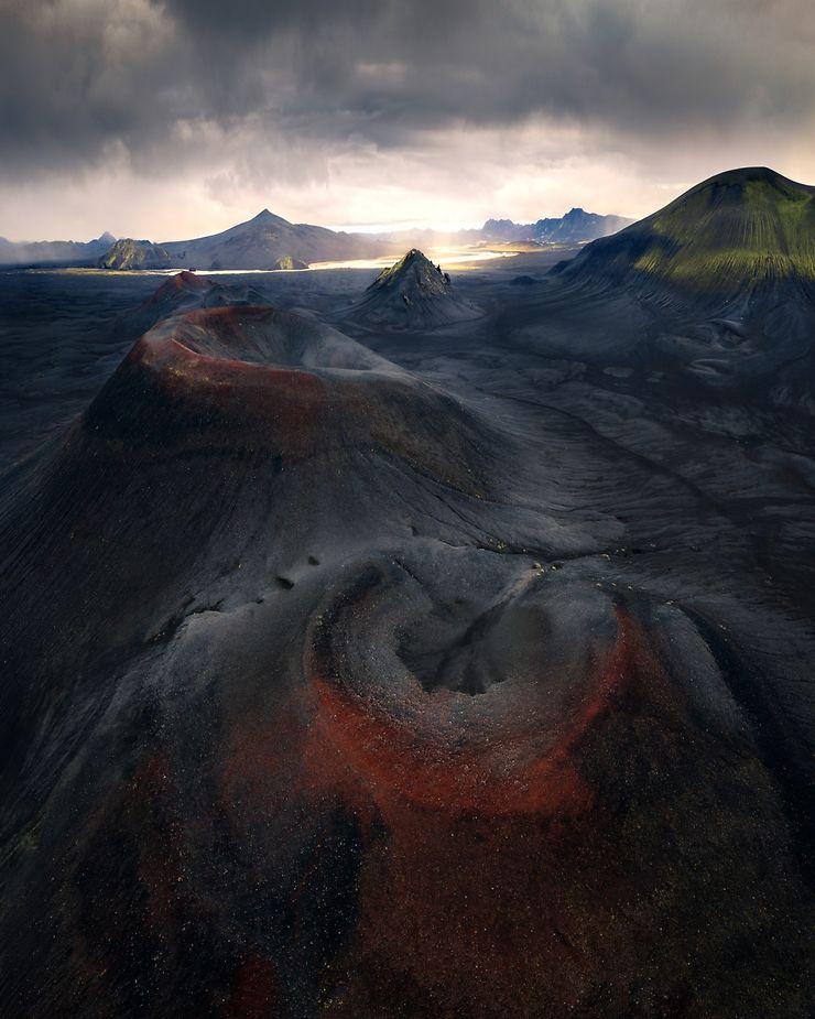Le Rouge et le Noir, Islande
