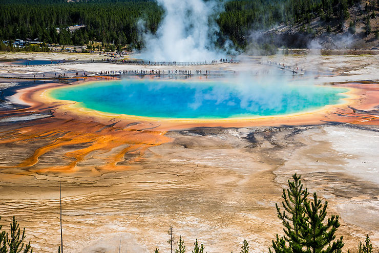 Grand Prismatic Spring, Yellowstone, Wyoming