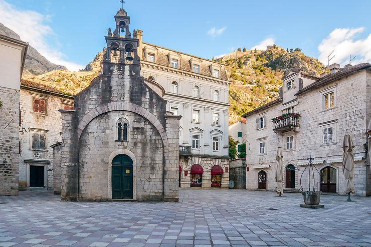 Le labyrinthe de la vieille ville de Kotor