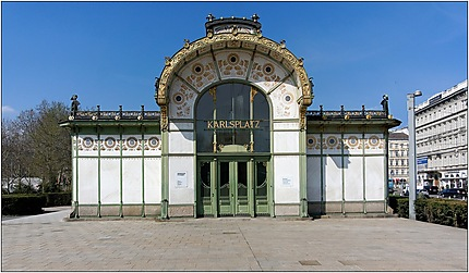 Pavillons Otto Wagner