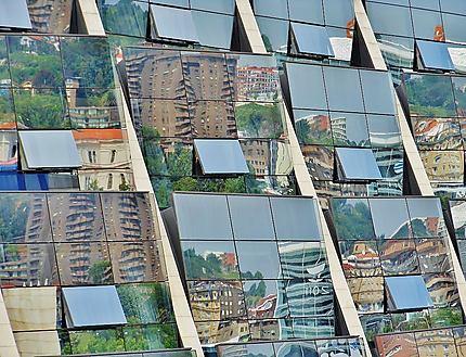 Reflet sur Bilbao