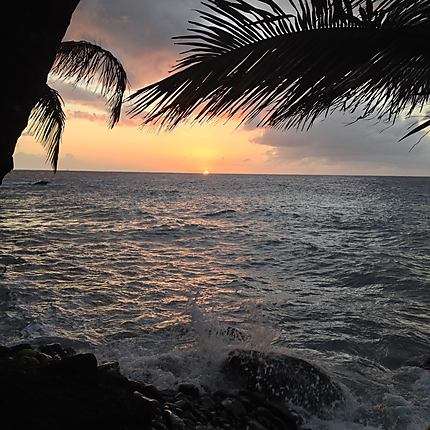 Sunset en Martinique