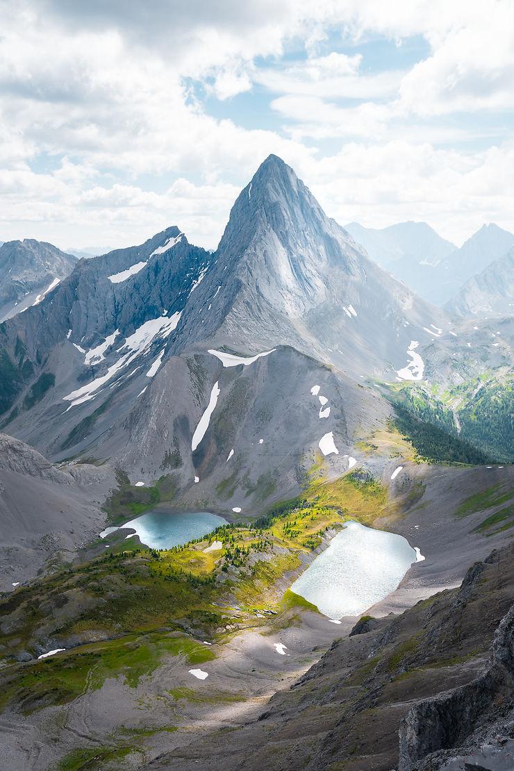 Smutwood Peak, Parc national de Banff, Alberta