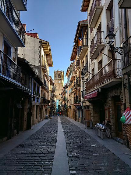 Rue principale de Getaria