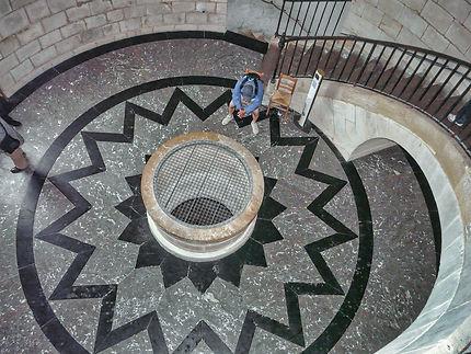 Intérieur du phare de Cordouan