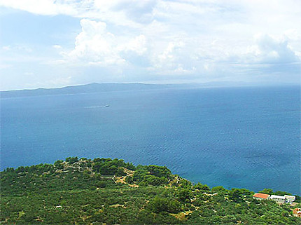 Mer Adriatique à Igrane
