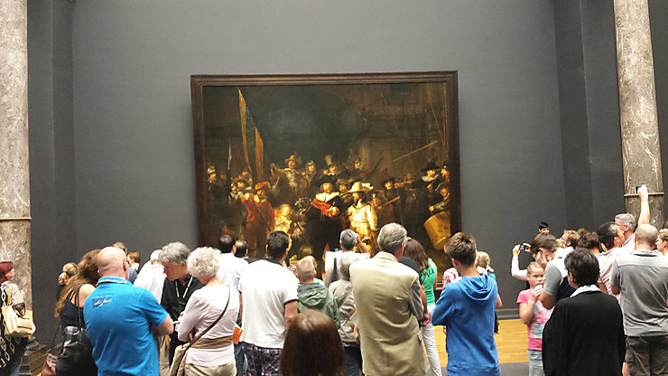 S'émerveiller devant  Rembrandt ou  Van Gogh