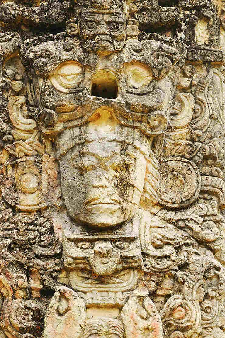 La chute de l'empire Maya