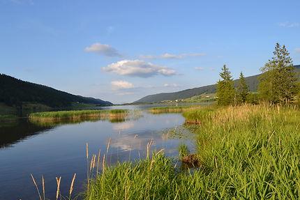 Lac des Rousses dans le Jura