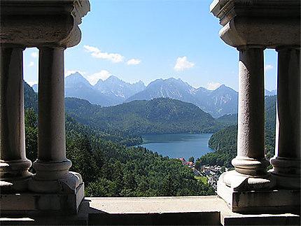 La Bavière vue de Neuschwanstein
