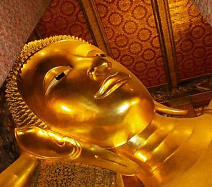 Sleeping bouddah