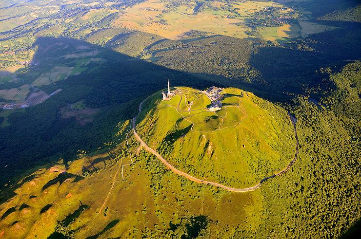 Auvergne - La chaîne des Puys, classée au Patrimoine mondial de l'UNESCO