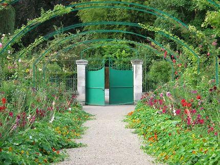 Accès au jardin de Claude Monet, Giverny