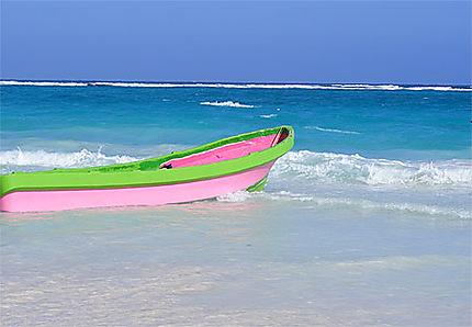 barque à Tulum