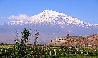 Monastère de Khor Virap (région d'Erevan)