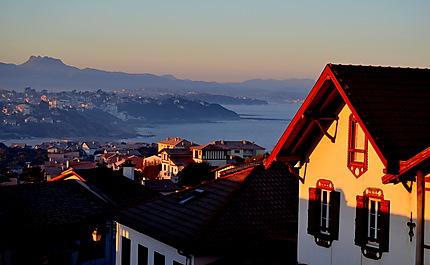 Matin d'hiver à Bidart Côte basque