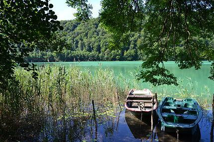 Sur La route des lacs du Jura