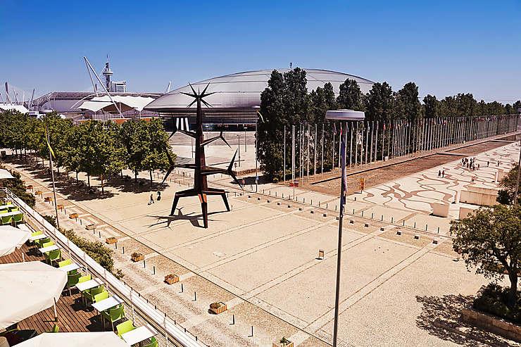 Lisbonne futuriste au parc des Nations