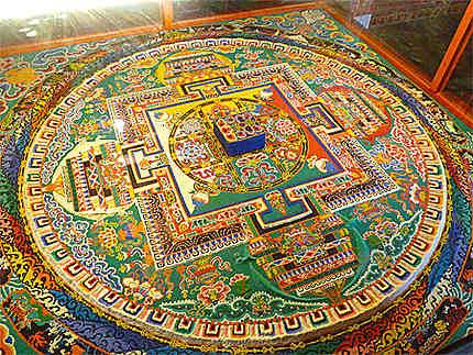 Mandala au Monastère de Séra