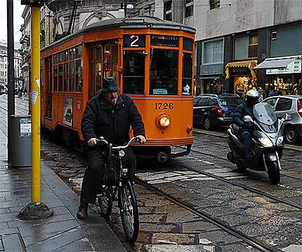 Croisement à Milan