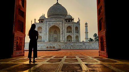 Merveille du monde, le Taj Mahal