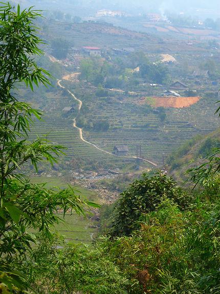 Randonnée entre les rizières de Sapa