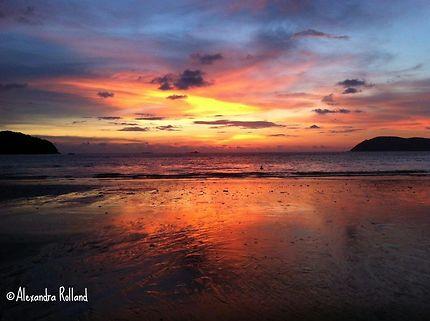 Sunset Langkawi Island, Malaisie