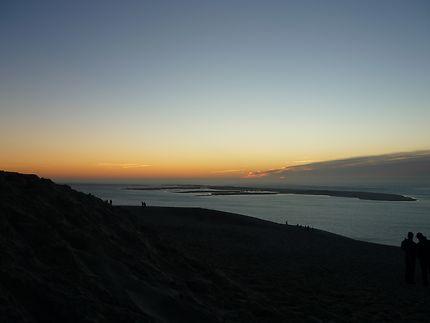 Coucher de soleil Dune du Pilat