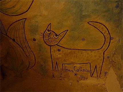 Le chat signature de Jean Cocteau