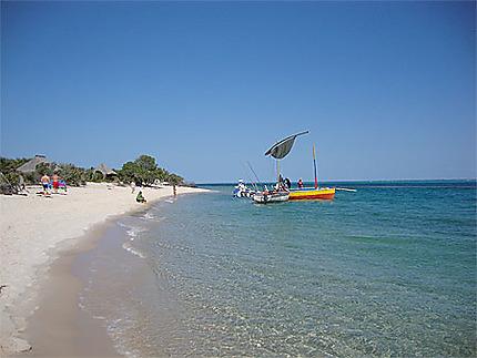 La plage de Magaruque
