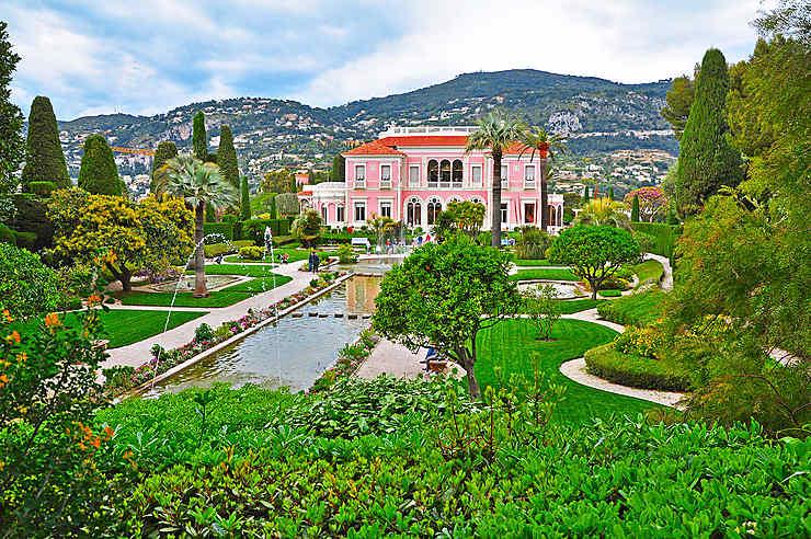 La villa Ephrussi de Rothschild, à Saint-Jean-Cap-Ferrat