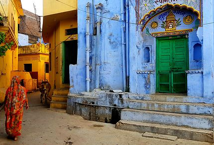 Scène de vie à Bundi, Rajasthan