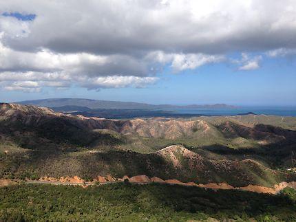Sur les hauteurs de Nouvelle-Calédonie